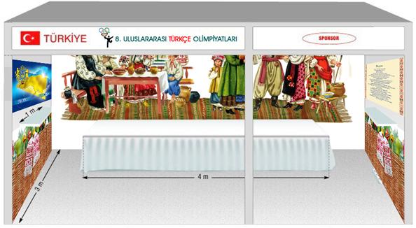 Оформление стенда на Турецкой выставке