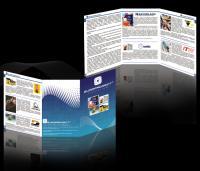 разработка дизайна буклета - для фирмы Европроект - 2009 год
