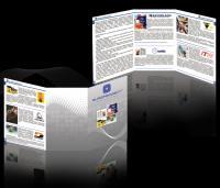 Разработка дизайна буклета - для фирмы Европроект 2010 год